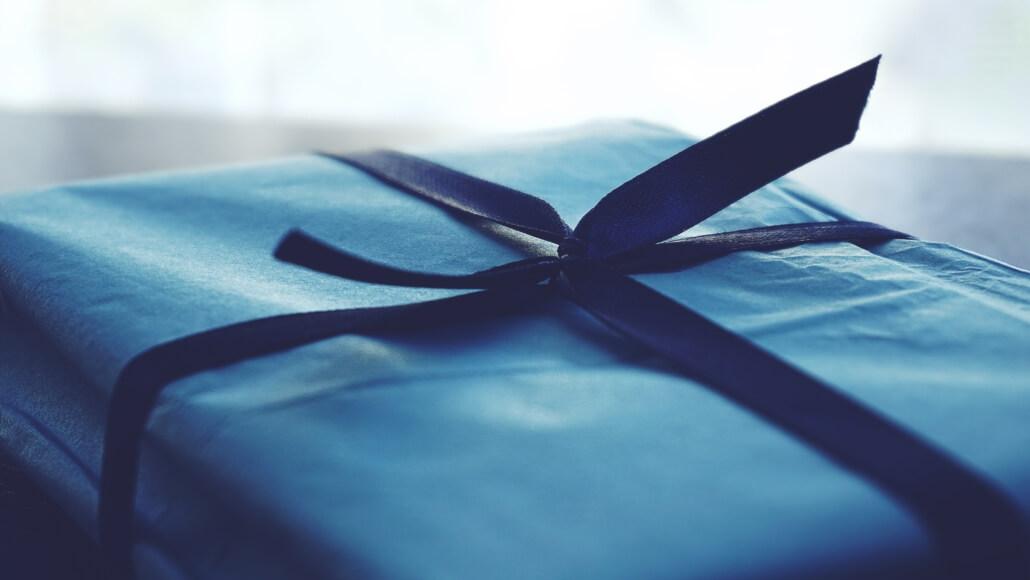 Kunden bekommen Geschenke